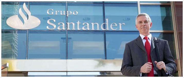 Trabalhe no santander super mega zord for Banco santander abierto sabado madrid